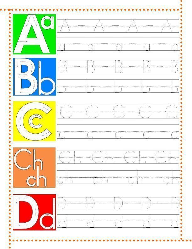Cuaderno Caligraf  A Para Imprimir De La Letra A A La Letra Z