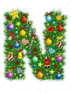 abecedario navideño